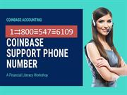 CoinBase Help desk number ↔ 1 800⊆547⊂6109 CoinBase phone number
