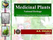 Medicinal Plants conservation our national heritage