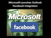 Outlook - Facebook Integration