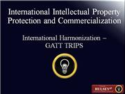 03-International Harmonization – GATT TRIPS