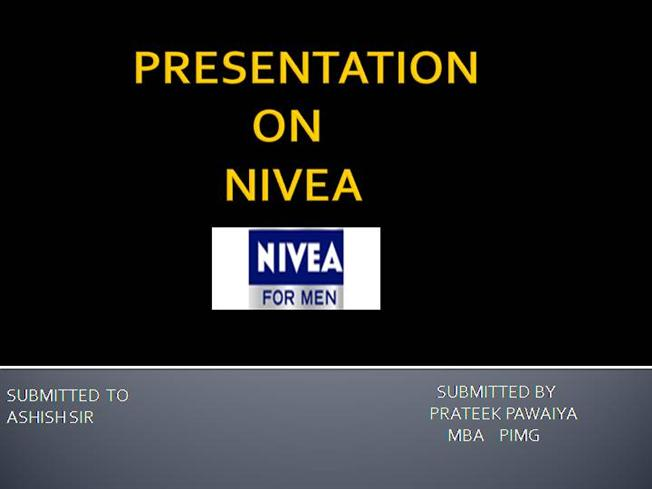 essay for nivea company Nivea swot analysis, segmentation, targeting & positioning (stp) are covered on this page analysis of nivea also includes its usp, tagline / slogan and competitors  similar analysis has also been done for the competitors of the company belonging to the same category, sector or industry advertisements.