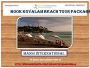 Book Kovalam Beach Tour Packages Online