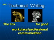 Technical-20Writing Vs Academic writing