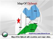 djibouti map powerpoint template