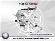 greece map powerpoint template
