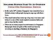 Singapore Business Incorporation
