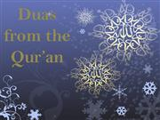 Duas from the Qur'an