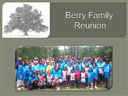 Berry 2010 Family Reunion