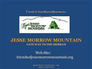 Jesse Morrow PowerPoint final 7-2010