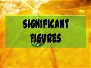 Significant Figures by jhomar tadeja