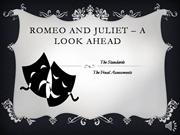 Romeo and Juliet � A Look Ahead
