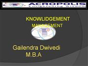 ppt of Knowledge management