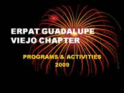 ERPAT GUADALUPE VIEJO PRESENTATION