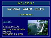 india water policy