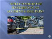 what to do if you have been in a car accident