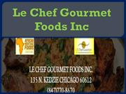 Le Chef Gourmet Foods Inc