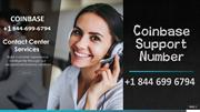 Coinbase Support Number 8446996794 ⦄❄ Pro Coinbase Service