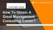 How Can You Discover an Appropriate Job in the Field of Management?