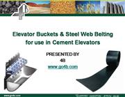 how to optimize cement elevators using sj elevator buckets and steel w