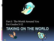 taking on the world