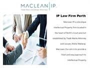 Best Boutique Law Firms in Perth | Maclean IP