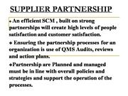 TQM_Supplier Partnership