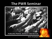 PWR Seminar
