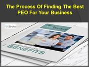 The Process Of Finding The Best PEO For Your Business