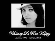 whitney larae happy