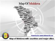moldova map powerpoint template