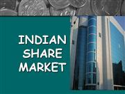 INDIAN SHARE MARKET...