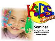 Kids Church Seminar