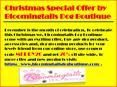 Christmas Special Offer by Bloomingtails Dog Boutique