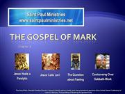 Bible Study Mark 2 1-14
