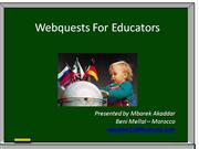Webquests For Educators