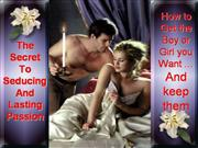 successful flirting seducing and dating