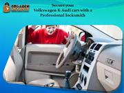 Secure your Volkswagen & Audi cars with a professional locksmith