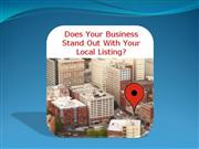 Local Marketing with 4 Reasons for Local Business Listi