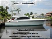1986 47 Buddy Davis
