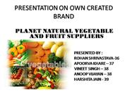 Marketing Vegetable Final