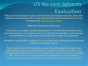 US No cost Adverts Evaluation