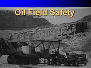 Oil and Gas Safety power point presentation