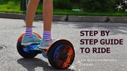 How You Can Easily Ride A Hoverboard
