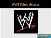WWE 2011 Updates - WWE Releases 2011 Schedule