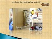 24-hour locksmith Charlotte NC