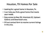 houston tx homes for sale