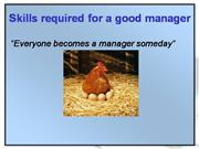 skills for effective manager
