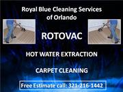 rotovac carpet cleaning 321-216-1442 orlando