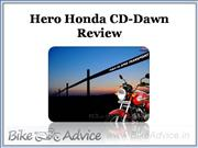 hero honda cd-dawn review