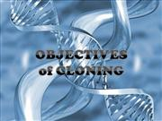 cloning objectives